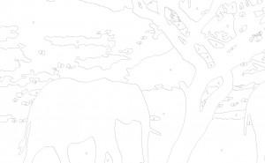 Схема из 9 цветов (простая)